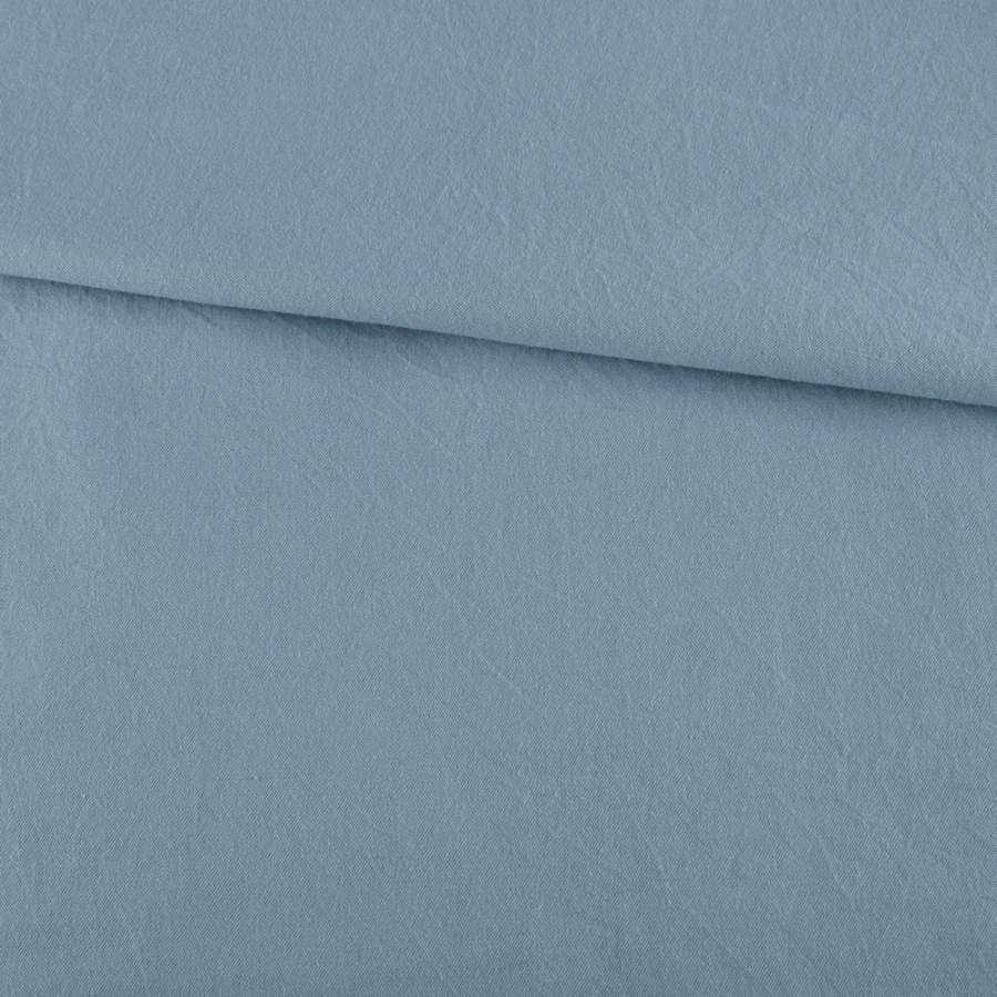 Деним рубашечный голубой светлый ш.145