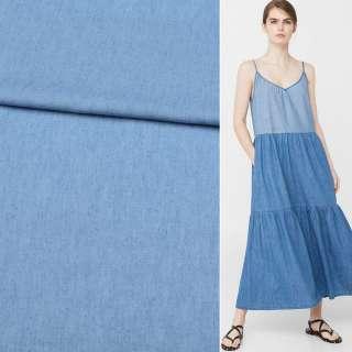 Джинс рубашечный голубой, ш.150