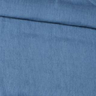 Джинс рубашечный голубой темный, ш.150