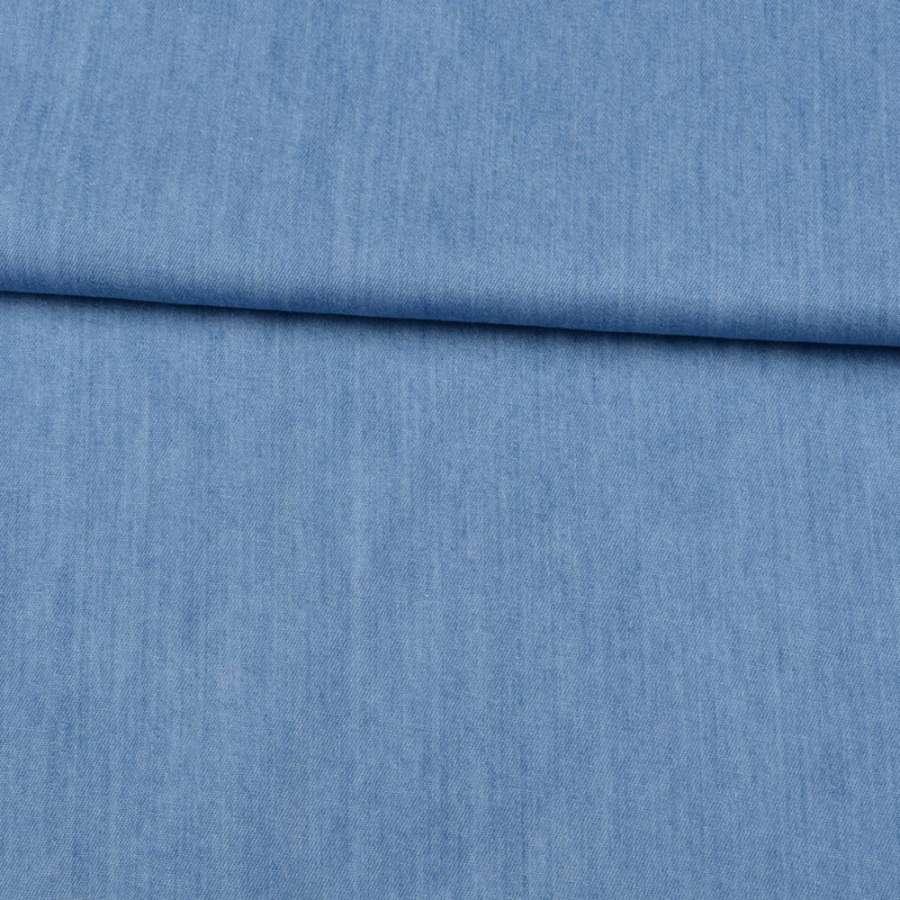Джинс голубой, дублированный флизелином, ш.150
