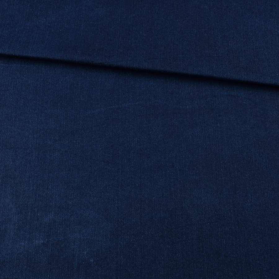 Джинс* стрейч синий, ш.150
