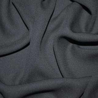 Креп жоржет черный ш.150