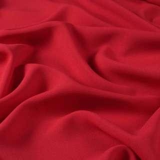 Креп стрейч красный темный ш.150