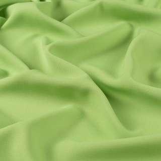 Бістрейч креп платтяний салатовий, ш.150