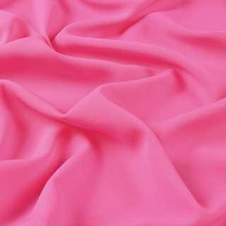 Бістрейч креп платтяний рожевий яскравий, ш.150
