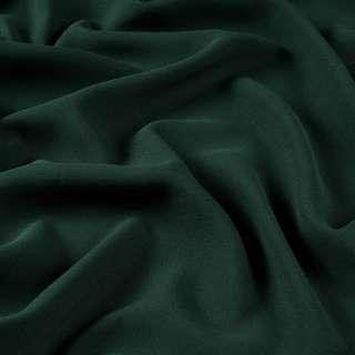 Бистрейч креп плательный зеленый темный, ш.150