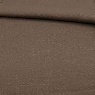 Креп льон стрейч коричневий, ш.150