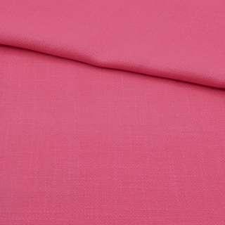 Креп лен стрейч розовый ш.150