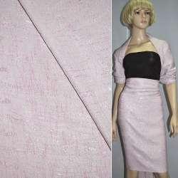 Фукра блідо-рожева з абстрактним малюнком ш.140