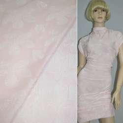 Фукра блідо-рожева з малюнком квіти