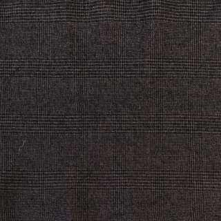 Твид черно-серый в клетку, ш.136