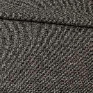 Твид черно-серый, диагональ ш.150