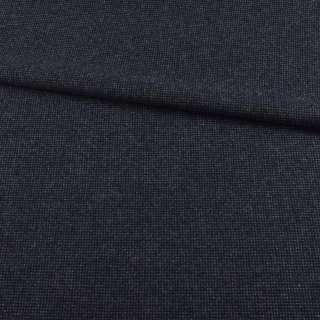 Твид синий темный в серую точку, ш.150