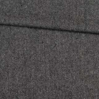 Твід діагональ чорно-сірий, ш.148