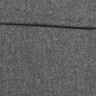 Твід Донегал софт сіро-чорний, ш.150