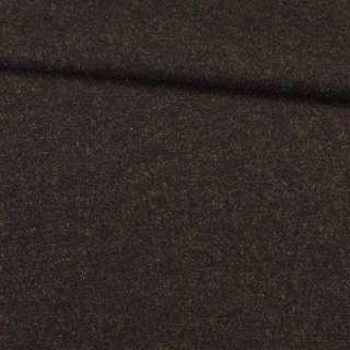 Твід харріс ворсовий коричнево-чорний, ш.145