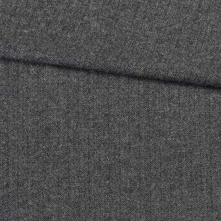 Твід ялинка 1 см чорно-білий, ш.150