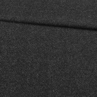 Твід Донегал сіро-чорний темний, ш.152