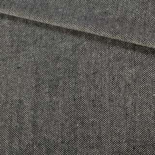 Твід ялинка сірий з білими вкрапленнями, ш.150