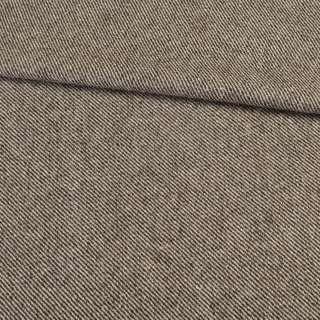 Твід коверкот бежево-коричневий, ш.150