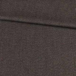 Твід софт біло-коричневий з синьо-рудими вкрапленнями, ш.145
