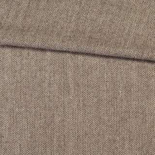 Твід ялинка 7 мм бежево-коричневий, ш.150