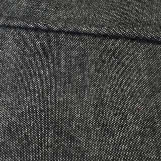 Твид харрис плотный черно-белый темный, ш.150