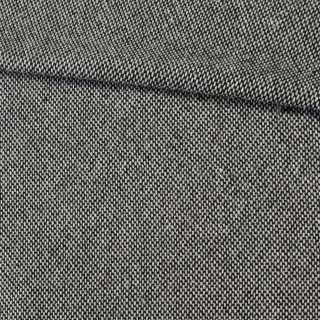 Рогожка рельєфна сіро-чорна, ш.150
