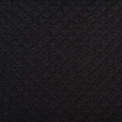 Жаккард чорний в блискучі ромби, ш.150