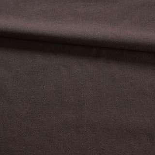 Ткань костюмная в мелкую елочку коричневая, ш.145
