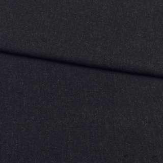 Кашемир костюмный черно-серый диагональ, ш.150