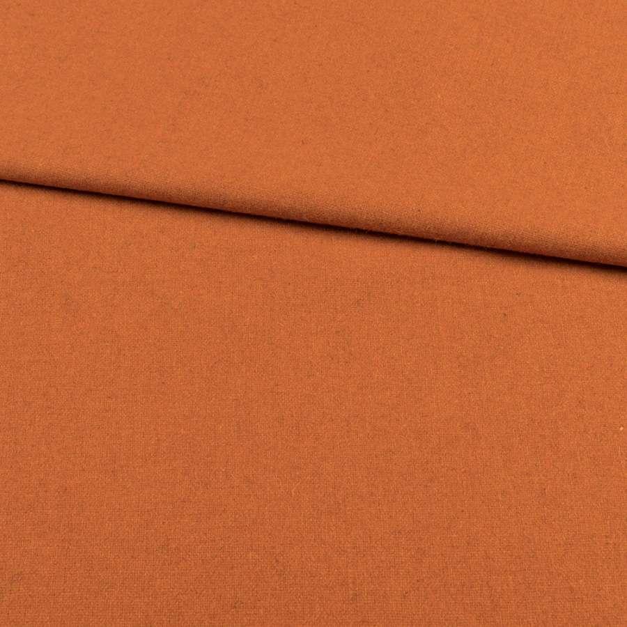 Кашемир костюмный терракотовый, ш.152