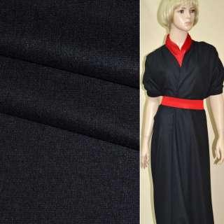 ткань костюм. гладкокраш. черная ш.154