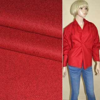 Тканина костюмна червона ш.155
