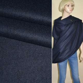 Тканина костюмна синьо-чорна ш.150