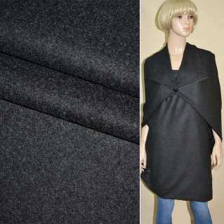 Тканина костюмна темно-сіра ш.155