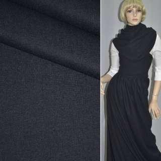Тканина костюмна темно-синя ш.154