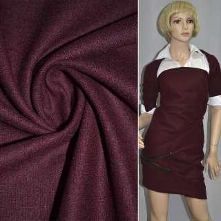 Тканина костюмна темно-вишнева ш.148