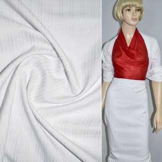 Ткань костюмная белая, ш.150