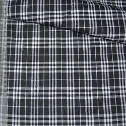 Шотландка черно-белая ш.140