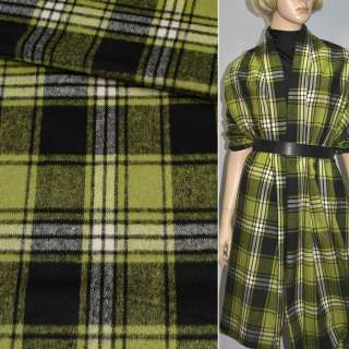Шотландка в черно-зеленую клетку, ш.150