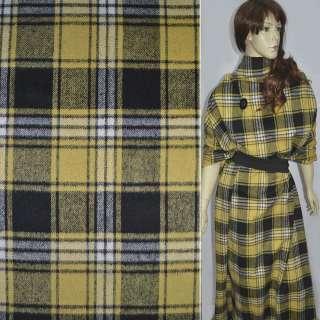 Шотландка в черно-желтую клетку, ш.150