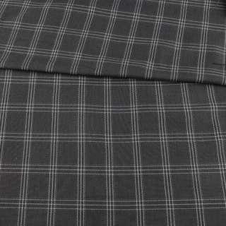Шотландка сіра в чорно-білу клітинку, ш.115