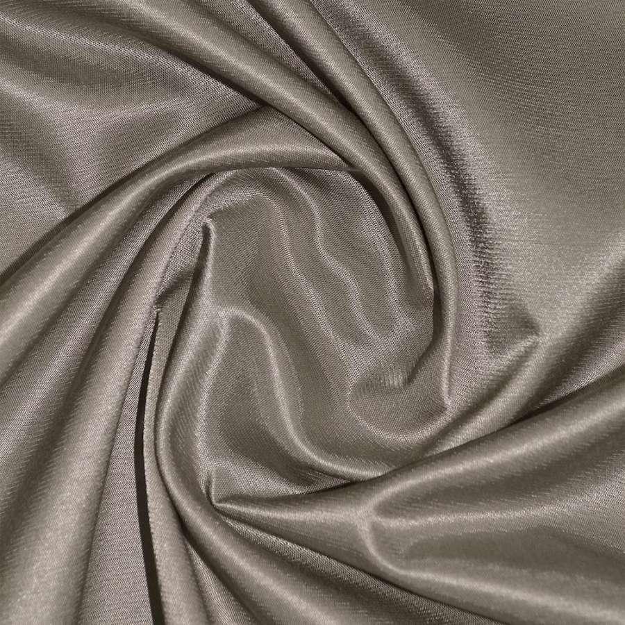 Коттон-атлас серо-коричневый, ш.150