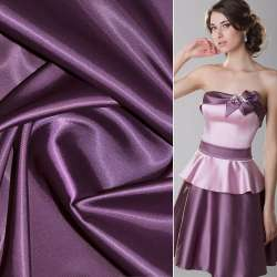 Коттон-атлас фиолетовый ш.150