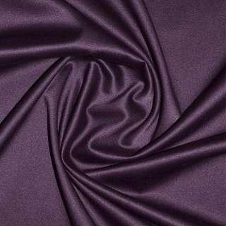 коттон-атлас темно-сиреневый однотонный, ш.150