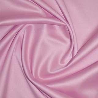коттон-атлас розовый однотонный, ш.150