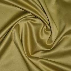 Коттон-атлас горчично-золотистый, ш.150