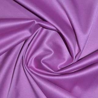 Коттон-атлас розово-сиреневый, ш.150