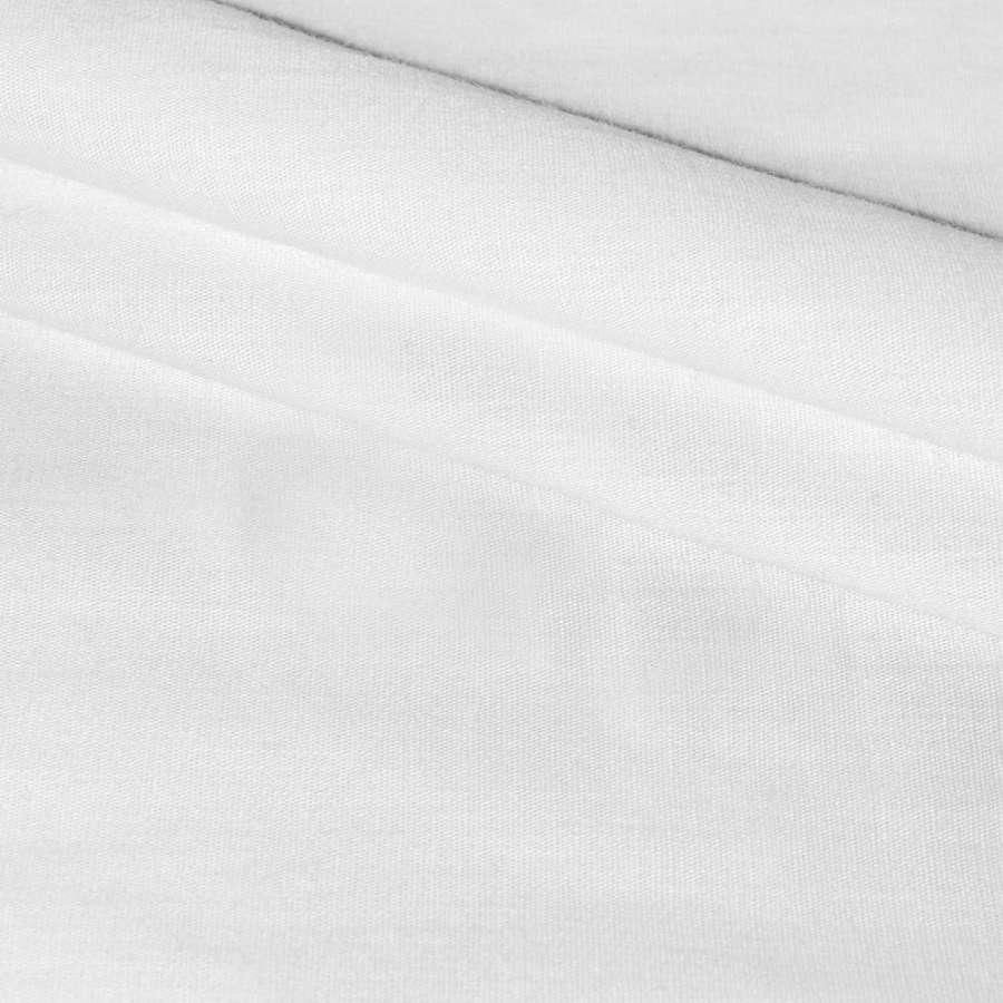 Коттон стрейч белый ш.135